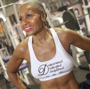 Ernestine Shepherd: World Record for Oldest Female Body Builder www.ernestinesheperd.net