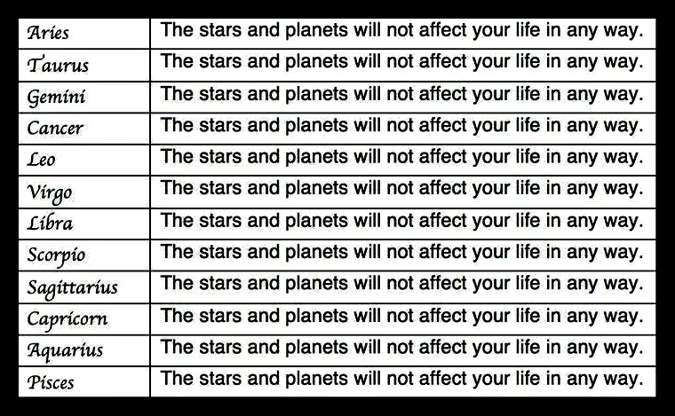 most accurate horoscope ever